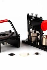 Button Machine & Punch 32mm (1 1/4 inch) - Bundle