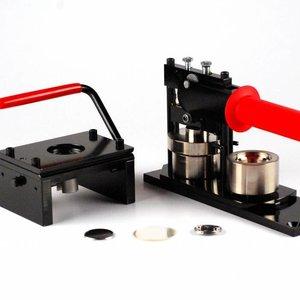 Buttonmachine & Snijder 32mm (1 1/4 inch) - Bundel