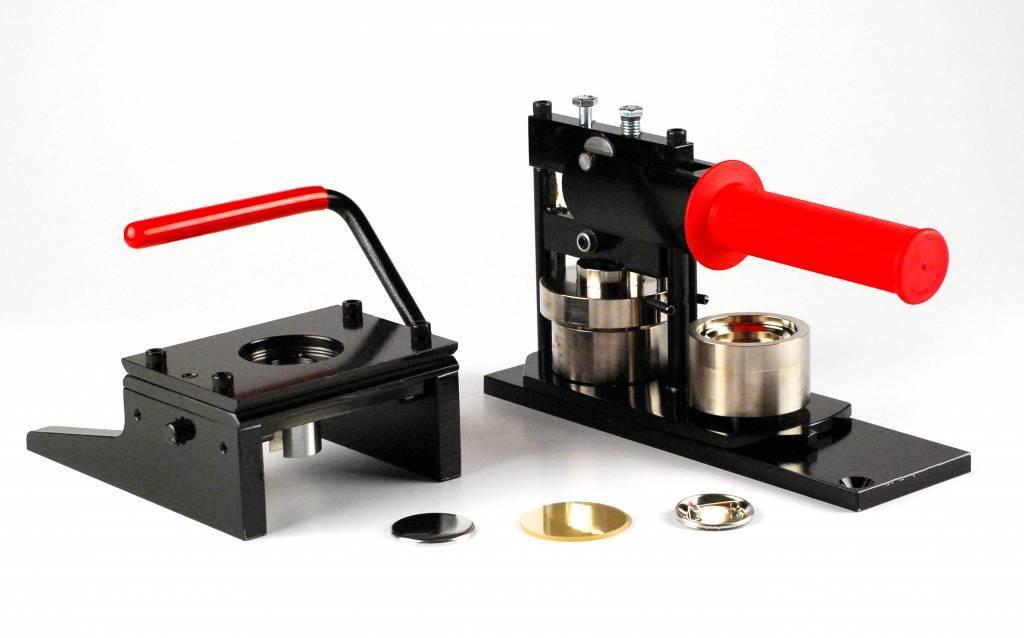 Button Machine & Punch 38mm (1 1/2 inch) - Bundle