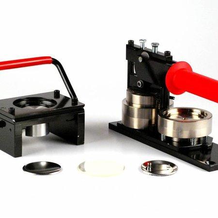 Button Machine & Punch 56mm (2 1/4 inch) - Bundle