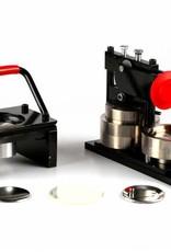 Button Machine & Punch 75mm (3 inch) - Bundle