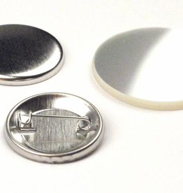 Button Onderdelenset, speld, 32mm (1 ¼ inch)