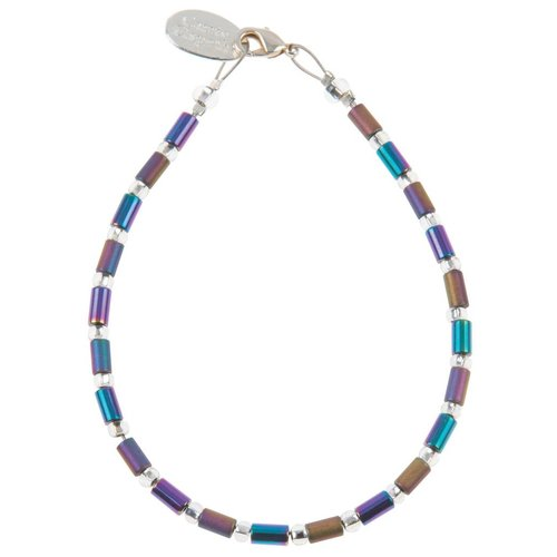 Carrie Elspeth Bracelet Geo Tube -  Spectrum