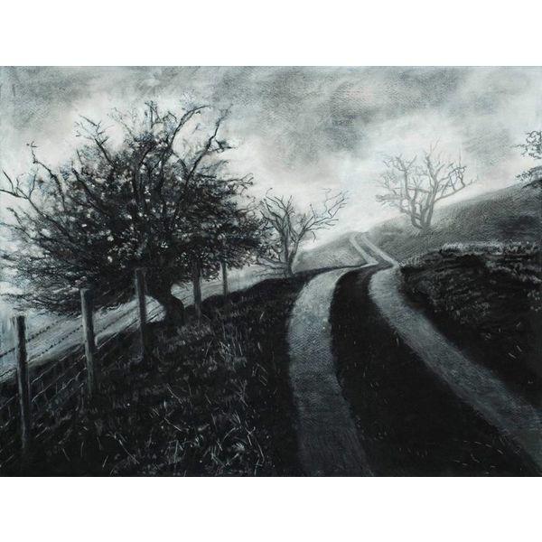 Mist on The Road to Rake Farm No. 3