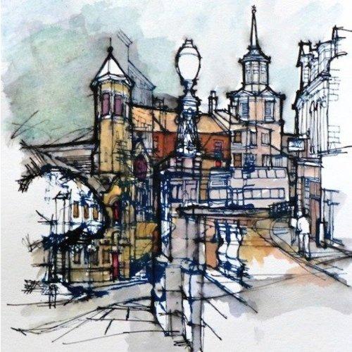 Colin Binns Streetscape 2