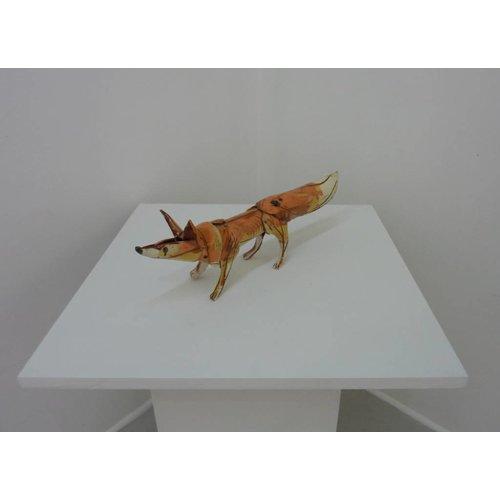 Anna-Mercedies Wear Standing fox 1 ceramic