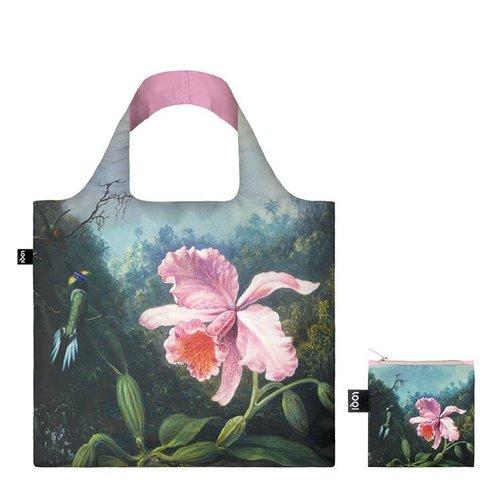 Loqi Stillleben mit Orchideen und Kolibris