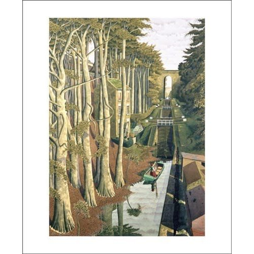 Art Angels View from a Canal Bridge by Simon Palmer