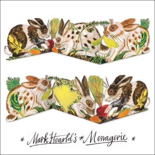Art Angels Rabbit 3 fold Mark Hearld