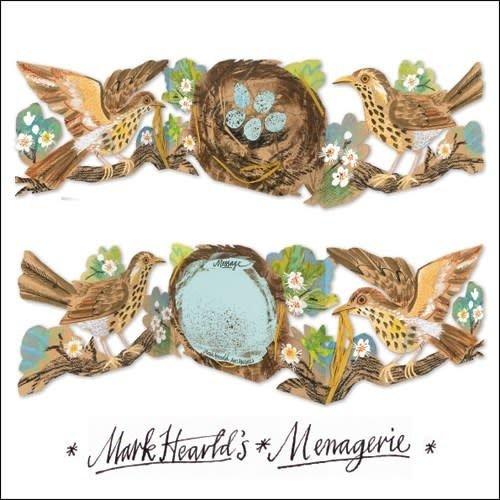 Art Angels Thrush 3 fold Mark Hearld
