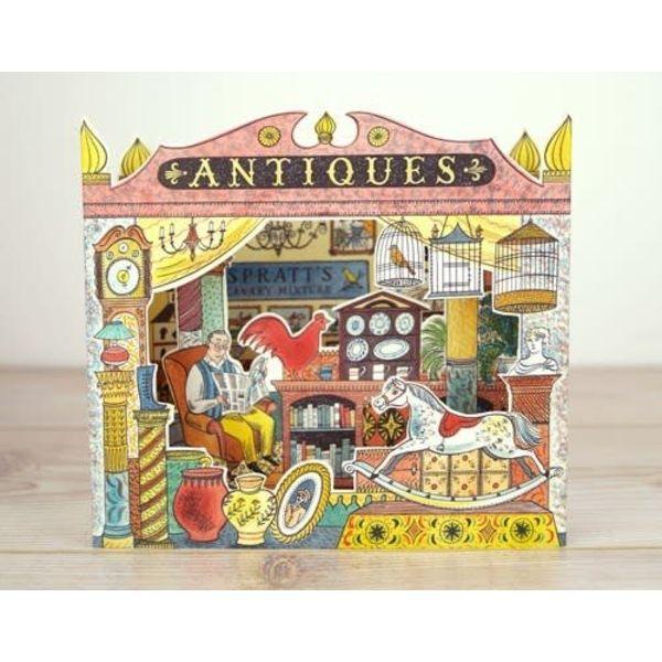 Antiques Pop up Shop card