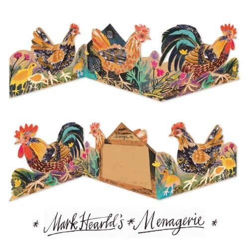 Art Angels Cockeral 3 fold Mark Hearld