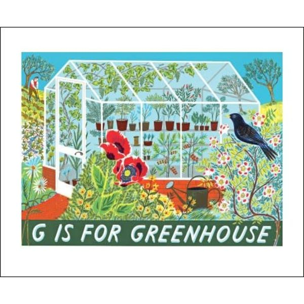 G is for Greenhouse  Card Emily Sutton