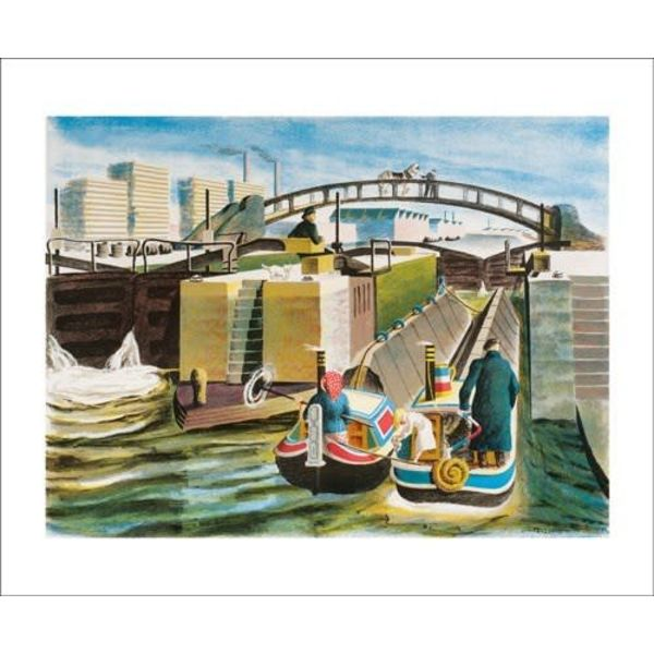Grand Union Canal  card by Lynton Lamb
