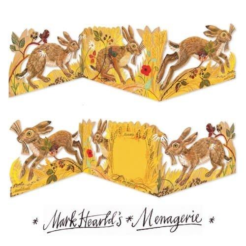 Art Angels Hare 3 fold Mark Hearld
