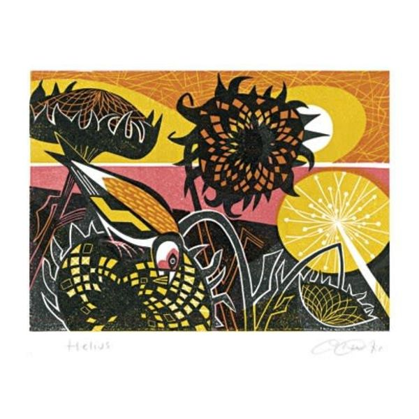 Helius card by Clare Curtis