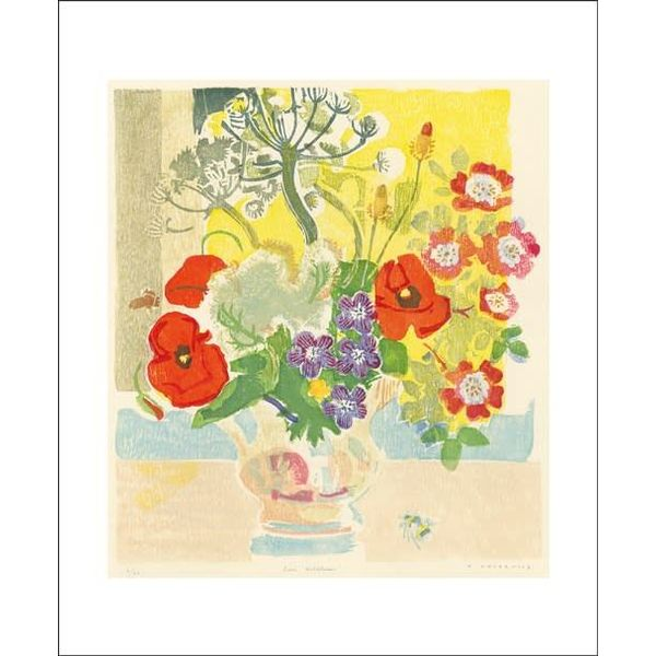 June Wildflowers card by Matt Underwood