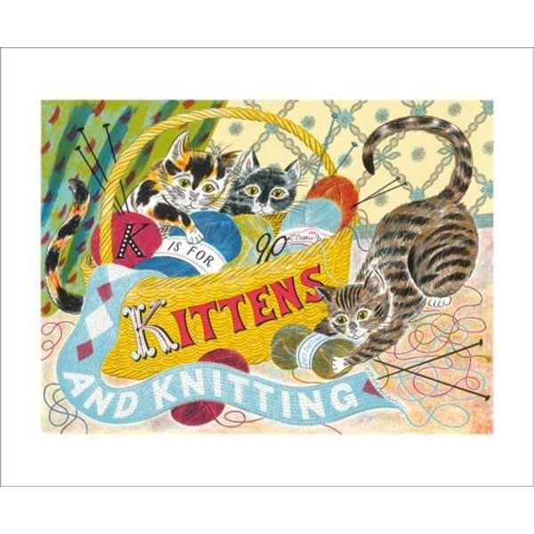 K is for Kittens Card Emily Sutton