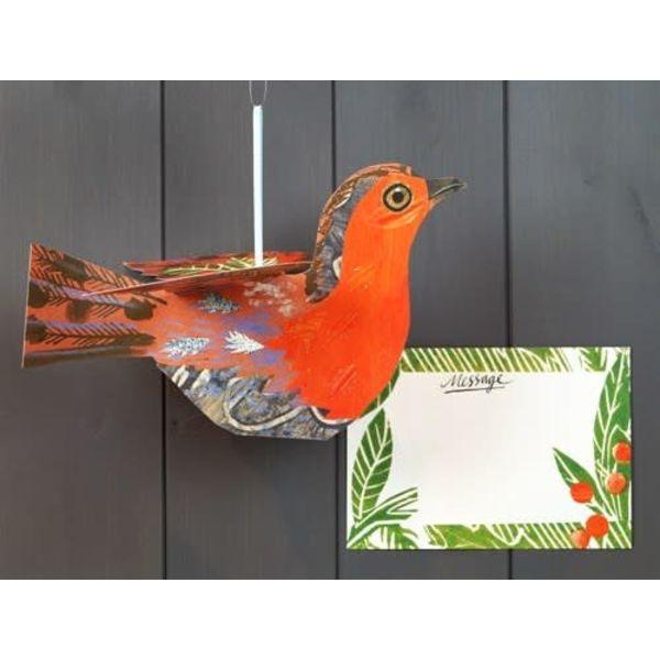 Robin Folding Decoration Mark Hearld