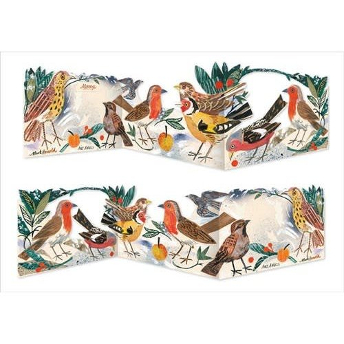 Art Angels Robins 3 fold Mark Hearld