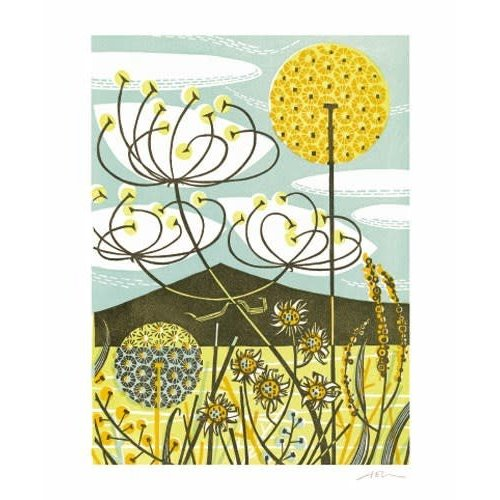 Art Angels Scarista card by Angie Lewin