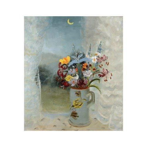 Art Angels Flowers by Moonlight by Winifred Nicholson