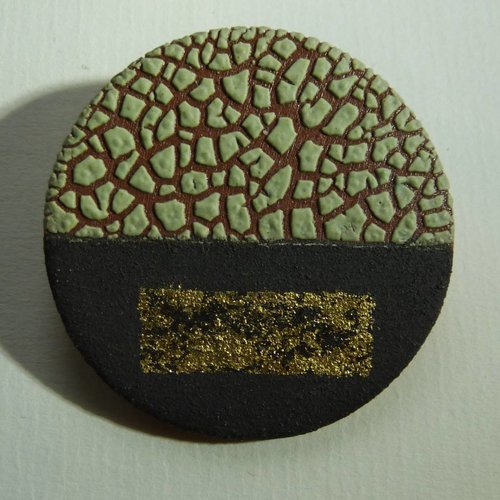 Emma Williams Ceramic Brooch