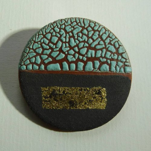 Emma Williams Copy of Ceramic  stoneware  Brooch