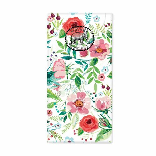 Michel Design Works Wild Berry Blossom 10 Pocket Tissues