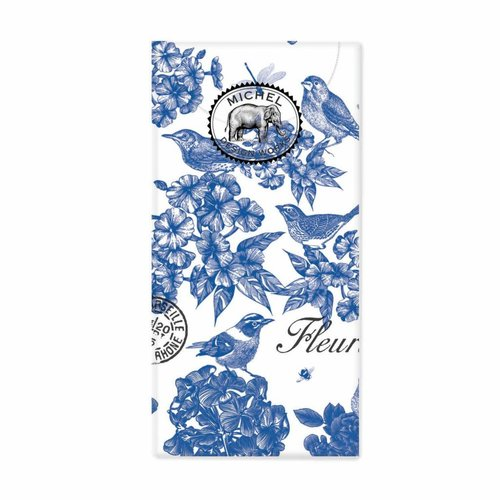 Michel Design Works Indigo Cotton 10 Pocket Tissues
