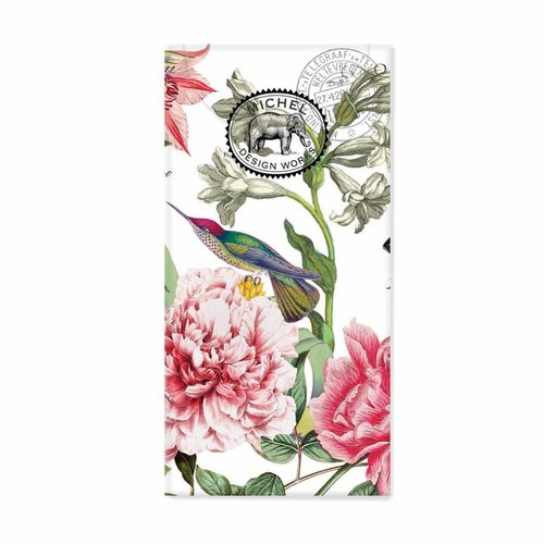 Michel Design Works Peony 10 Pocket Tissues