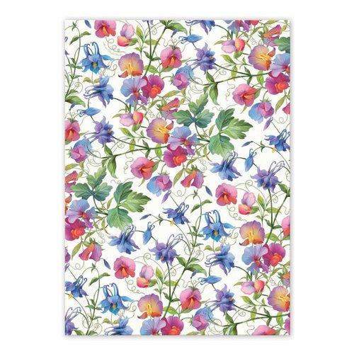 Michel Design Works Sweet Pea  Kitchen Towel