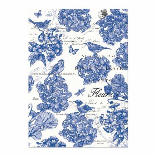Michel Design Works Indigo Cotton Kitchen Towel