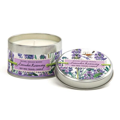 Michel Design Works Lavender Rosemary Travel Candle Tin 20 + hours