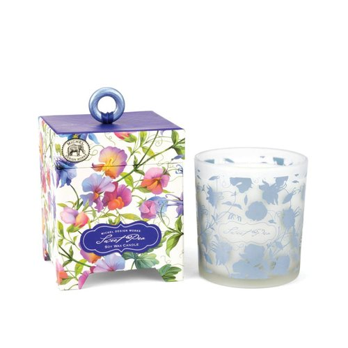 Michel Design Works Sweet Pea 6.5 oz. Soy Wax Candle