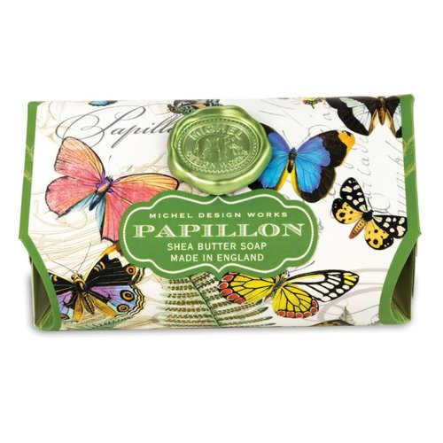 Michel Design Works Papillon Large Soap Bar