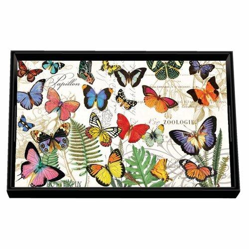 Michel Design Works Papillon Vanity Decoupage Holzschale