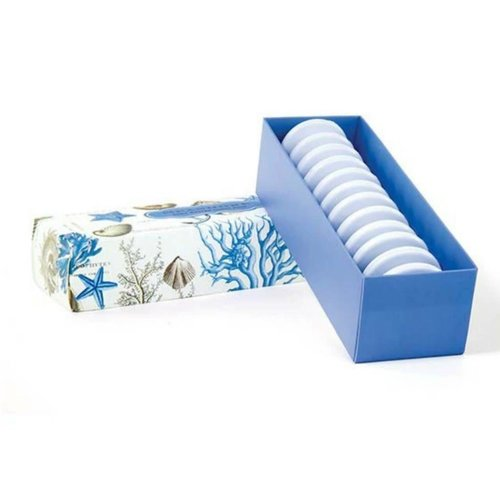 Michel Design Works Blue 12 Shea Soap Set
