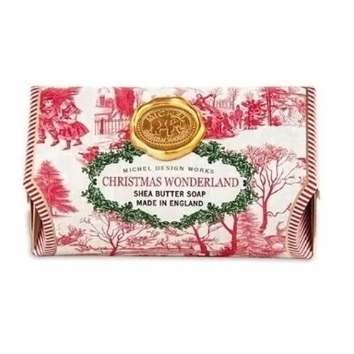 Michel Design Works Christmas Wonderland Large Bath Shea Soap Bar