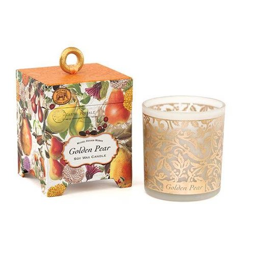 Michel Design Works Golden Pear 6.5 oz. Soy Wax Candle