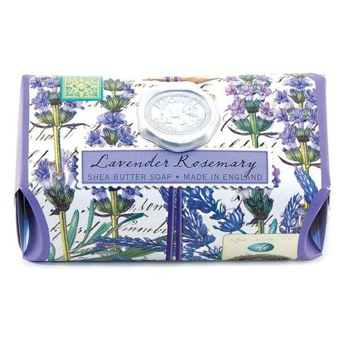 Michel Design Works Lavender Rosemary Large Bath Shea Soap Bar
