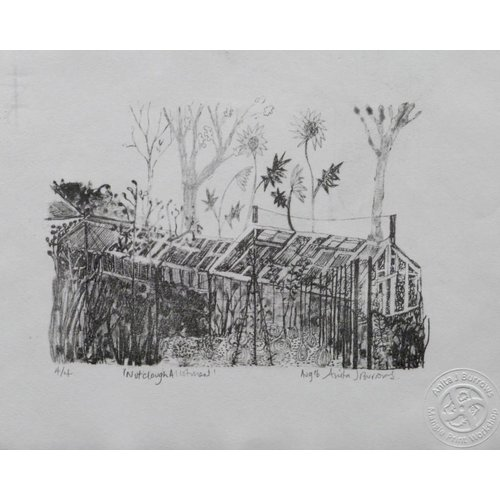 Anita J Burrows Copy of Allotment- Lithograph Framed