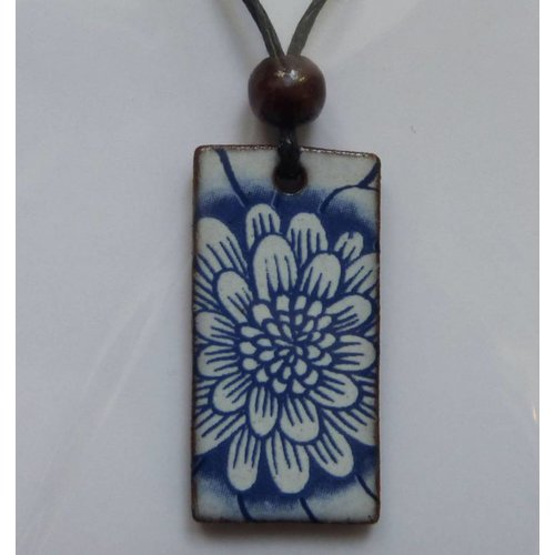 Stockwell Ceramics Copy of Black and White Pendant