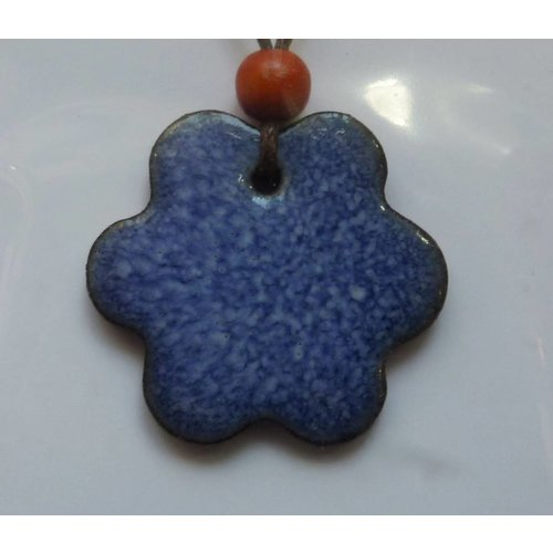 Stockwell Ceramics Copy of Blue and pink  Pendant