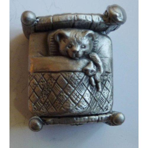 A E Williams Teddy in Bed Box