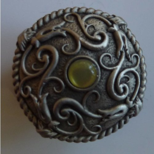 A E Williams Stone Set Victorian Trinket Box