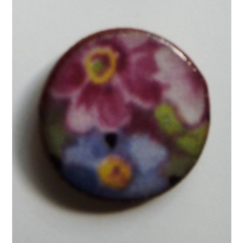 Stockwell Ceramics Mixed flower stud earrings