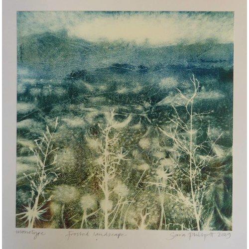 Sara Philpott Bereifte Landschaft
