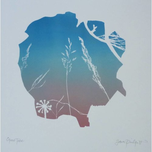 Sara Philpott Open Tree 25 x 25 cm