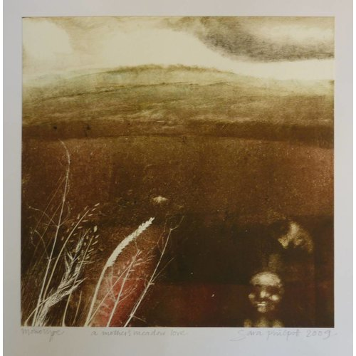 Sara Philpott A Mother's Meadow Love 20 x 20 cm